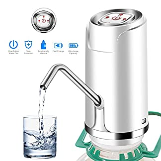 Bomba de agua potable eléctrica, interruptor universal del dispensador de la bomba de agua de la botella del galón