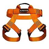 Fusion Climb Centaur Imbragatura Bassa per Arrampicata in Palestra e Percorsi di Funi, Arancione, M-XL