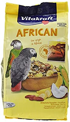 Vitakraft African Parrot Food - Large Breeds 750 g (Pack of 5) from Vitakraft