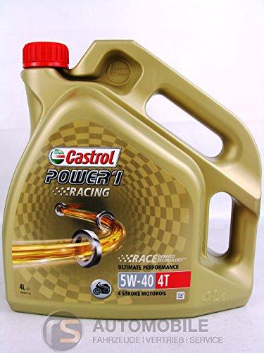 Castrol Power 1Racing 4T Huile 5W-404L pas cher