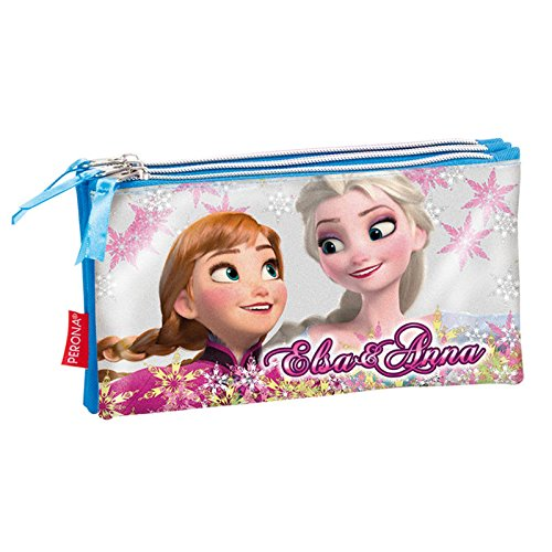 Disney Frozen Estuche portatodo Triple Plano (Montichelvo 52337)
