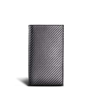 LUCA iPhone Tasche Handmade in Germany Carbon Echtleder Etui für Ihr iPhone 6 / 7 / 8