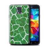 Stuff4 Hülle / Hülle für Samsung Galaxy S5 Neo/G903 / Grün Muster / Giraffe Tier Haut/Print Kollektion
