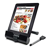 #5: ZAAP(USA) Phone and Tablet Stand/Holder with Integrated Stylus, Universal Compatibility (Black)