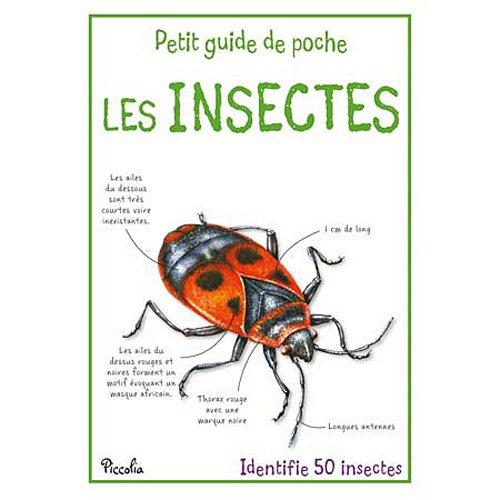 LES INSECTES - PETIT GUIDE DE POCHE par XXX