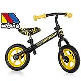 Unbekannt Laufrad mit Metallrahmen im Batman Design, für Kinder ab 2 Jahren - Metall Kinder Rad Bike Roller Lernlauf Lauflern Rad Hilfe