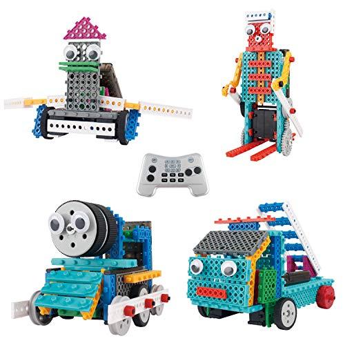 ThinkGizmos Le kit Robot pour Enfants - Le Kit de Construction de Jouet télécommandé Ingenious...