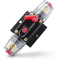 Adapter-Universe 40A ~ 100A Swtich fusible automático 12V/24V protección contra salpicaduras para coche barco de moto etc.