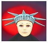 Statue de la liberté-Tête Forme de Tiare chapeau de déguisement en forme de couronne Motif Drapeau Amérique