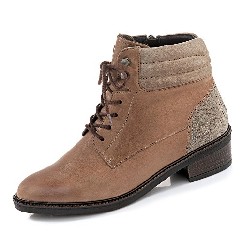 stf Damen Biker Ara Scottsdale Taupe Boots qEzYn