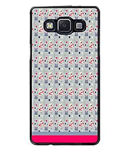 PrintDhaba Kitty pattern D-1773 Back Case Cover for SAMSUNG GALAXY A5 (Multi-Coloured)