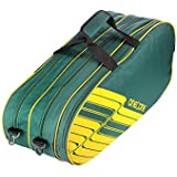 One O One - Lines Collection Triple Forest Green - Badminton / Tennis Kitbag