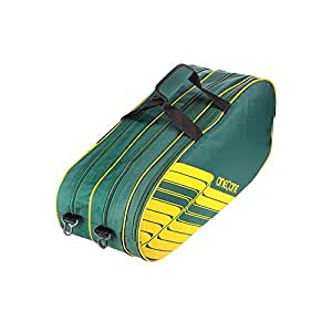 One O One - Lines Collection Triple Forest Green - Badminton/Tennis Kitbag