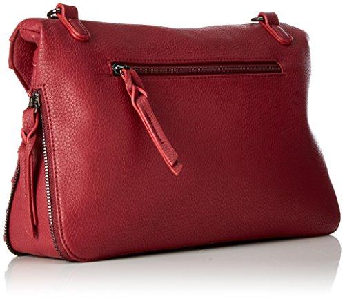 Sansibar - Zip Bag, Borse a tracolla Donna Rosso (Dark Red)