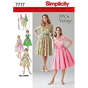 Simplicity Schnittmuster 7717.U5 Kleid