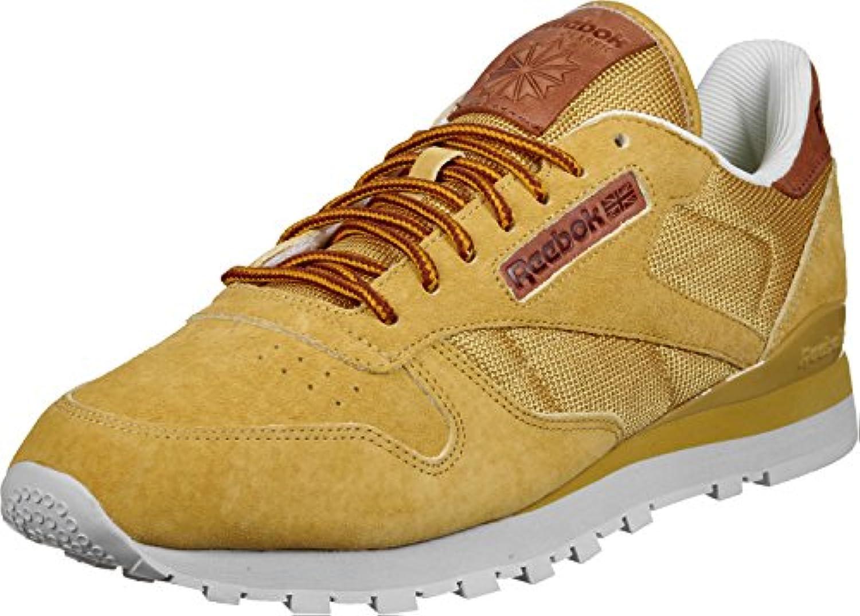 Reebok CL LEATHER OL golden wheat/steel/gold  Billig und erschwinglich Im Verkauf