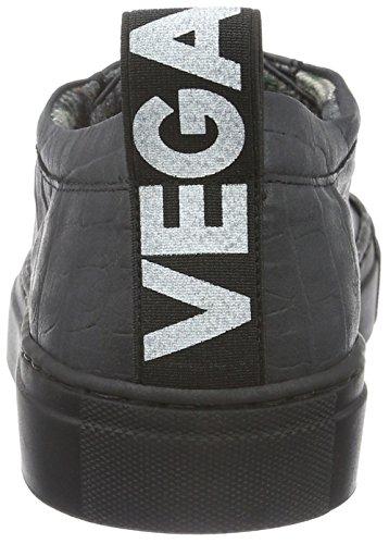 Jonny`s Vegan Damen Hanne Sneakers, Schwarz (Negro), 37 EU - 2
