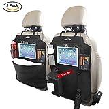 """Oasser 2pcs Protezione Sedile Auto Organizzatore Sedile Posteriore Impermeabile Supporto per Tablet 10""""con Scatola di Tessuto"""