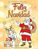 Best Libros de los niños de Navidad - Feliz Navidad: Un libro para colorear para navidad Review