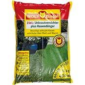 Wolf-Garten LQ 400 Unkrautvernichter plus Rasendünger für 400qm