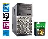Ordinateur de Bureau Dell OptiPlex 7010 MT - Core i5-3470 @ 3,2 GHz - 8Go RAM - 250Go HDD - Graveur DVD - Win10 Home 64 Bits (Reconditionné Certifié)