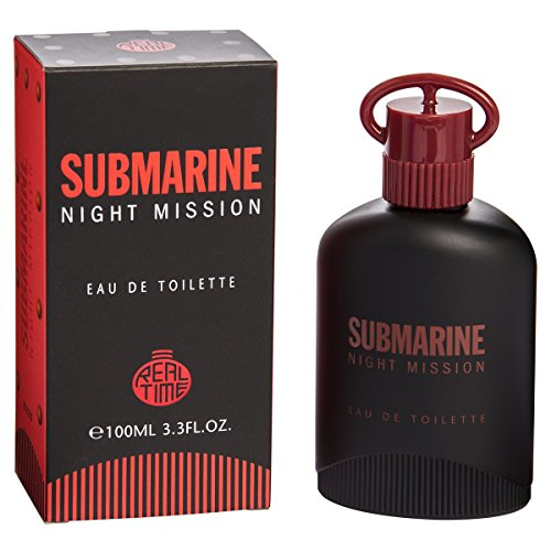 Real Time Eau de Toilette pour Homme Submarine Night Mission 100 ml