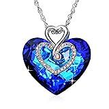 Kette Herz Damen Halskette mit