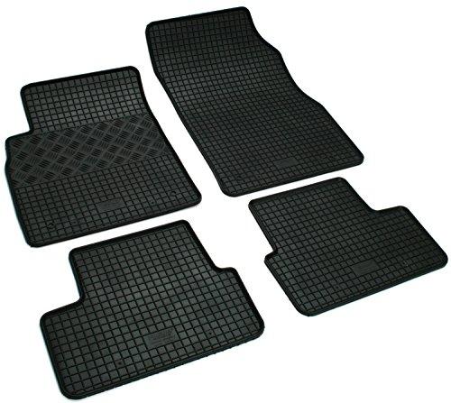 pie de Goma alfombras Alfombrillas de Goma KG Pie de Goma Juego de Alfombrillas para Diversos AD Tuning GmbH /& Co
