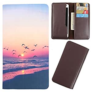 DooDa - For Lenovo Vibe Z PU Leather Designer Fashionable Fancy Case Cover Pouch With Card & Cash Slots & Smooth Inner Velvet