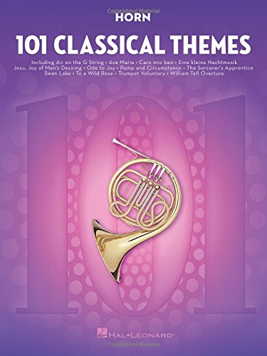 101 Classical Themes -For Horn- (Book): Noten, Sammelband für Horn -