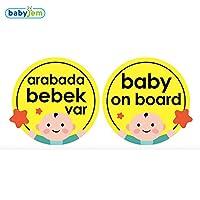 Baby Jem Araba Cam Yazısı