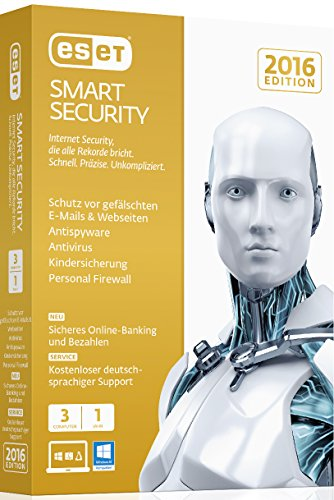 ESET Smart Security 2016 – 3 Computer (Minibox)
