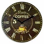 Orium 11088 Horloge Shop Coffee 30 cm