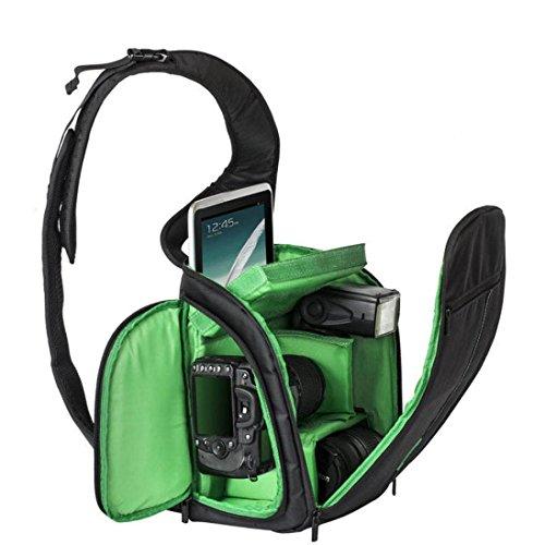 Kamera Taschen, Transer® Wasserdicht Rucksack Kameratasche Neue Kamera Rucksack Bag Wasserdichte DSLR Tasche für Canon für Nikon für Sony Kamera Staubbeutel Grün