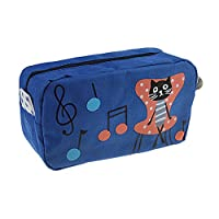 LY Large Capacity Canvas Cat Pencil Case Stationery Bag Cosmetic Makeup Bag Pouch Wallet Zip Pen Holder