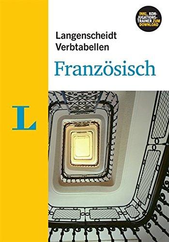 Langenscheidt Verbtabellen Französisch - Buch mit Software-Download