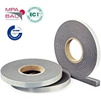 Hannoband HBD Kompriband 20/8-12 Farbe grau 3m Rolle - mit MPA Prüfung
