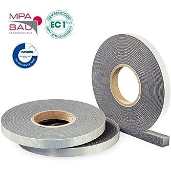 13m Kompriband Komprimierband Quellband wasserdicht 600Pa BG1 15//1-4 anthrazit