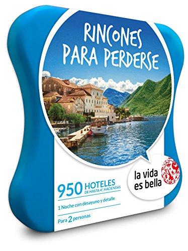 Caja Regalo – RINCONES PARA PERDERSE – 950 hoteles de hasta 4* LA VIDA ES BELLA