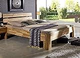 Main Möbel Bett 200x200cm Holz massiv Komforthöhe Eiche geölt