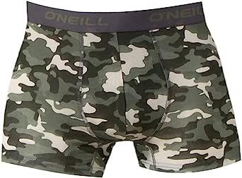 O'Neill Men's Boxer Shorts, Plain, Pack of 3
