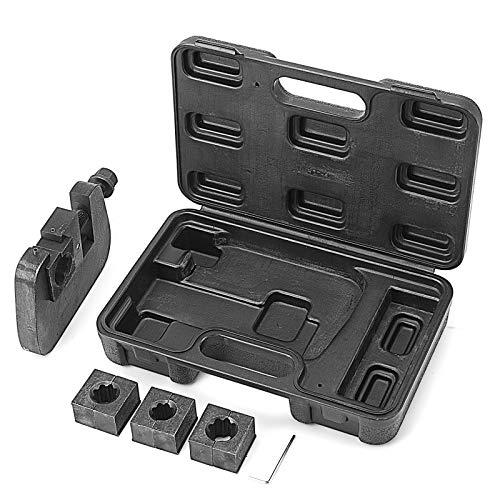 Mophorn Manual Hydraulic Hose Crimper Handluftschlauch-Bördelwerkzeug-Kit Klimaanlage Reparatur A/C-Schlauch Crimpwerkzeug Luftschlauch Crimpmaschine AC Repair Tool (Crimper set) -