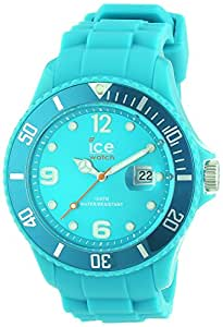 ICE-Watch - Montre Mixte - Quartz Analogique - Ice-Forever - Turquoise - Unisex - Cadran Turquoise - Bracelet Silicone Turquoise - SI.TE.U.S.13
