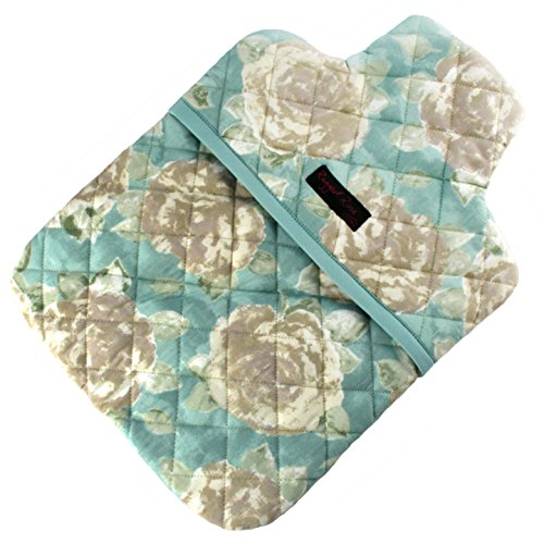 Ragged Rose - Totty - Funda para Bolsa de Agua Caliente con Estampado de Flores, color Azul Celeste