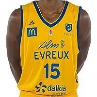 ALM Evreux Basket Réplica Domicle Maillot de Basketball Homme