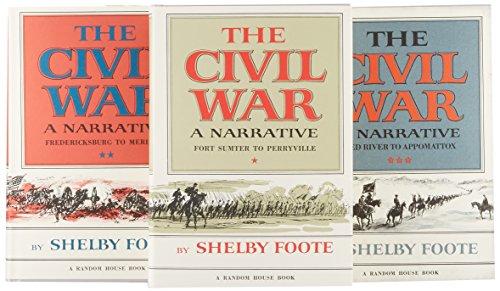 The Civil War: a Narrative: 3 Vol Set