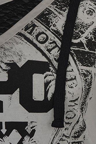 Cipo & Baxx Herren Oberteile / T-Shirt Drago Grau