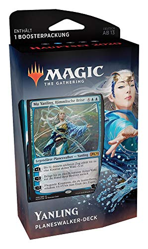 Magic The Gathering - M20 Hauptset 2020 - Planeswalker Deck | Auswahl | DEUTSCH, Booster:Blau