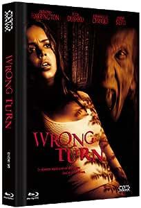 Wrong Turn - Uncut (Blu-Ray+DVD) streng limitiertes Mediabook