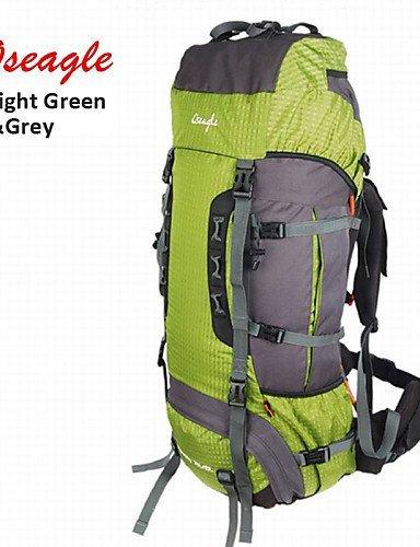 GXS oseagle 85L Große Kapazität Tasche Nylon Wasserdicht Rucksack Outdoor Sport Pack Tasche - lichtgrün